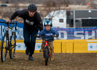 Kids' race, Sunday. 2018 Cyclocross National Championships. © A