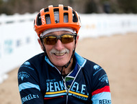 Peter Dahlstrand won Masters 80-84. 2018 Cyclocross National Cha